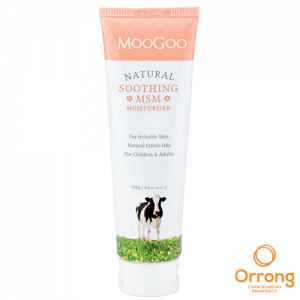 Moogoo soothing msm nut free cream