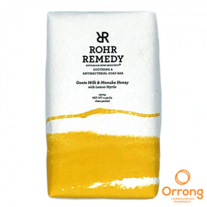 rohr remedy oats milk and honey soap