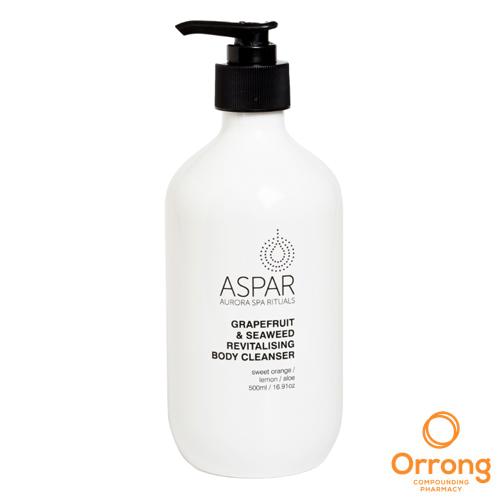 ASPAR Grapefruit and Seaweed Revitalising Body Cleanser