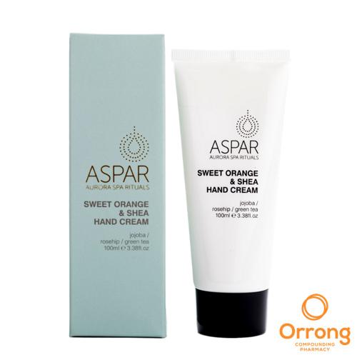 ASPAR Sweet Orange and Shea Hand Cream