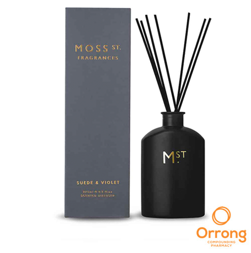 MOSS ST SUEDE & VIOLET SCENTED DIFFUSER